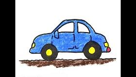 Sketsa Mobil Berwarna