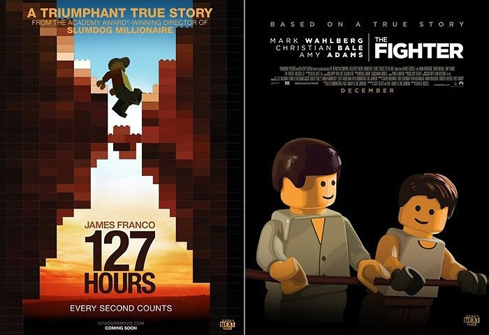 Oscar Best Picture nominees movie posters just got bricked ...