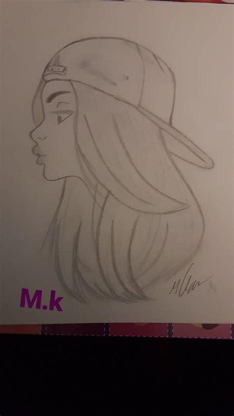 pin  nada ismail  drawings   meisjes tekenen