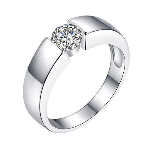 simple mens created diamonds classic titanium wedding