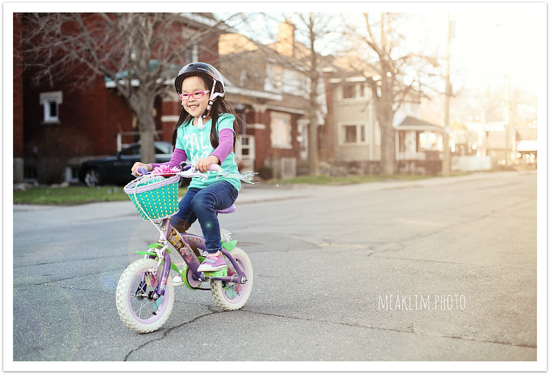 no stabilizers! GO Lilah!