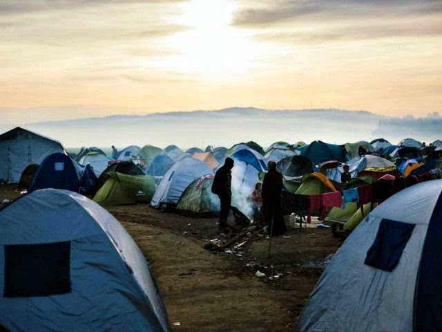 Tent City in Europe