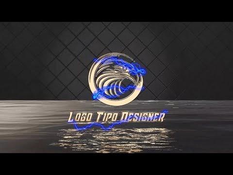 Intro #28 Eletric black Editavel Download Grátis www logotipodesigner com