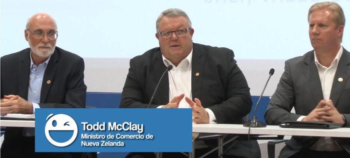 Esta imagen que tienen de Cali el embajador de Canadá y los ministros de Nueva Zelanda