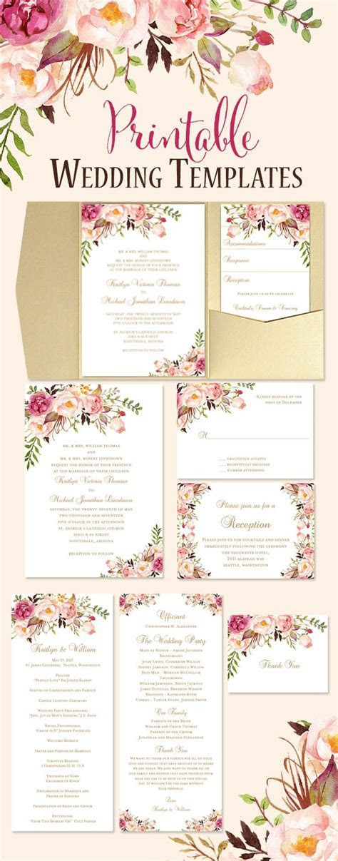 Best 25  Floral wedding invitations ideas on Pinterest