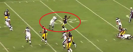 Dominique Rodgers-Cromartie says he has no regrets after his big hit on Steelers QB Byron Leftwich. (via NFL.com)