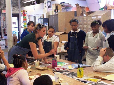 teaching artist work melinda placko  melk truk studio