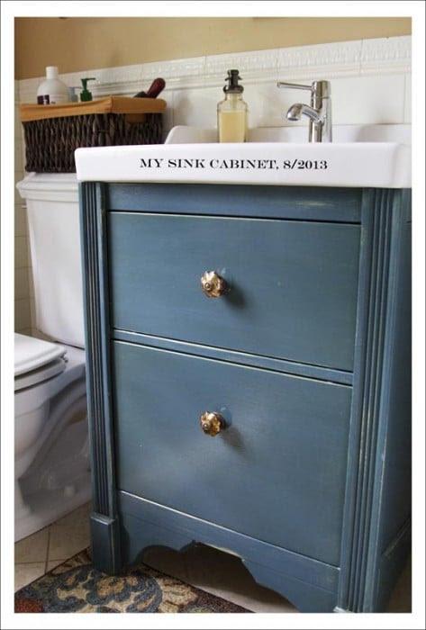 Sink Cabinet Change style - IKEA Hackers