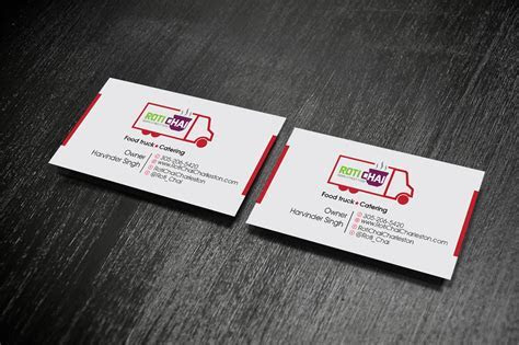 Playful, Modern, Indian Restaurant Business Card Design