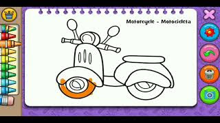 All Clip Of Belajar Mewarnai Gambar Anak Tk Bhclipcom