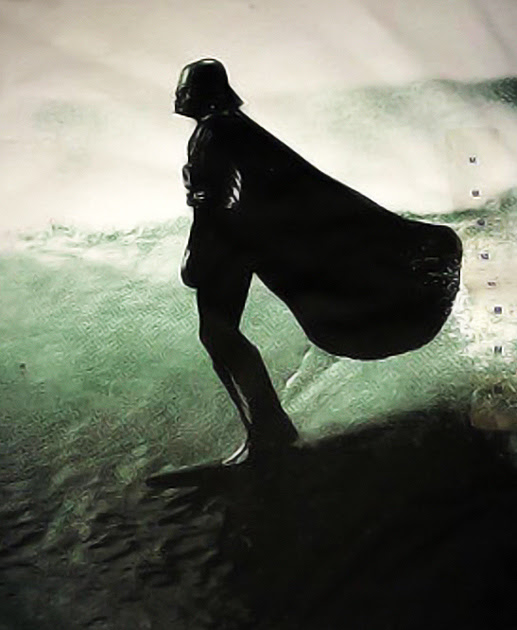 Surfing and surfers in the Star Wars world