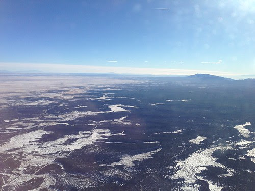 New Mexico from the airplane