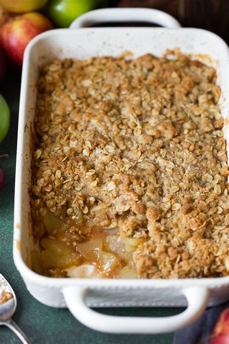 easy apple crisp recipe    video cooking