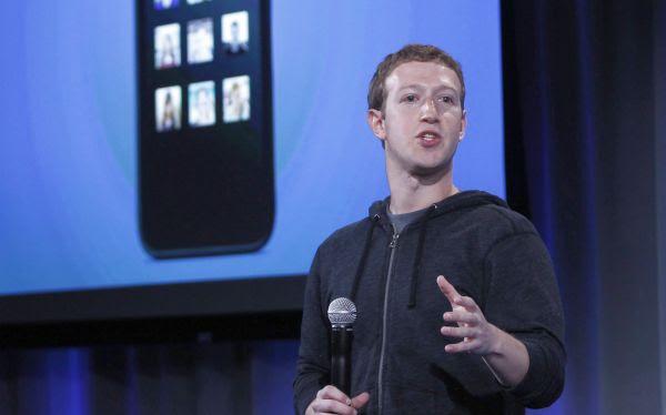 Facebook le pagó a Mark Zuckerberg US$1.990 millones en el 2012