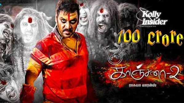 Kanchana 2 a blockbuster, collects over Rs.100 crore