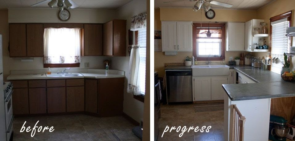 More Like Home: Kitchen Revamp On A Budget