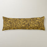 Gold Flaked Body Pillow
