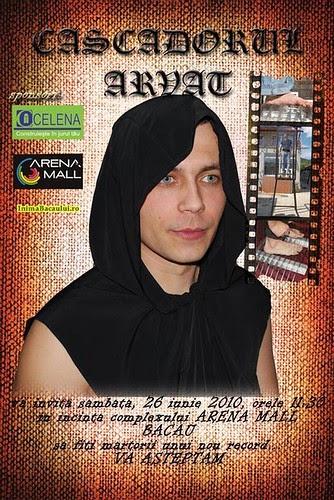 Cascadorul Arvat inimabacaului.ro mall