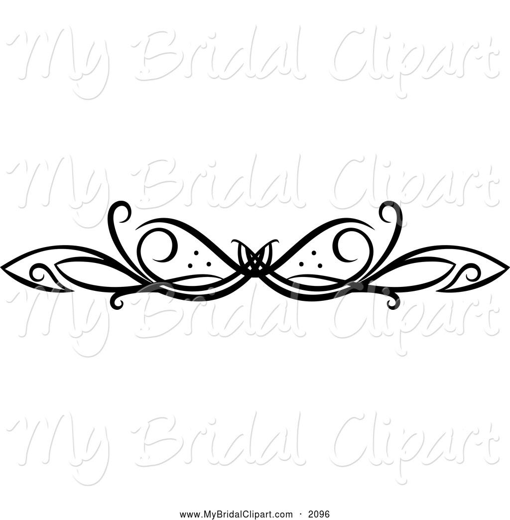 12 Black And White Swirl Design Images Black Swirl Designs Clip