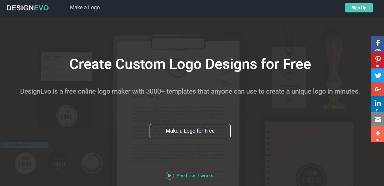Can DesignEvo Solve Your Company's Logo Problem?