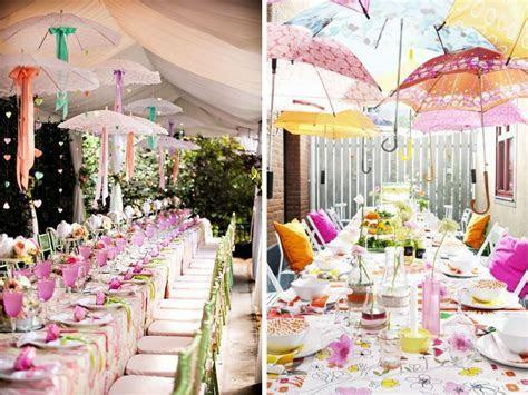 Outstanding Umbrella Decoration for Wedding Reception