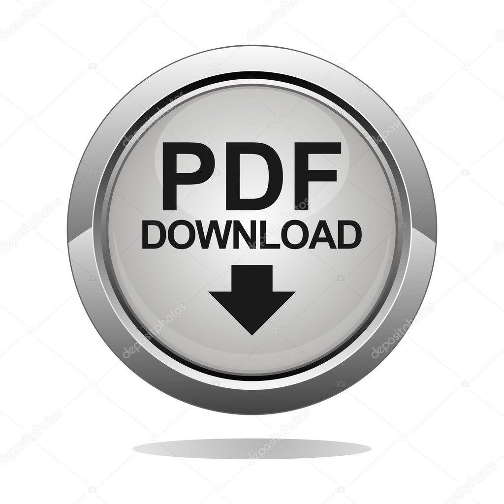 PDF download button  Stock Vector © haziran 11489693