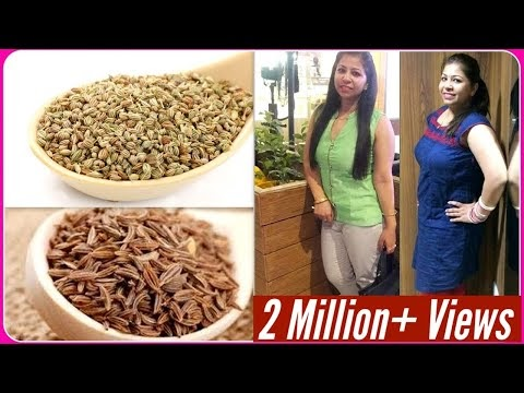 Fat Cutter Drink for Weight Loss | Cumin & Carom Seeds Water for Weight