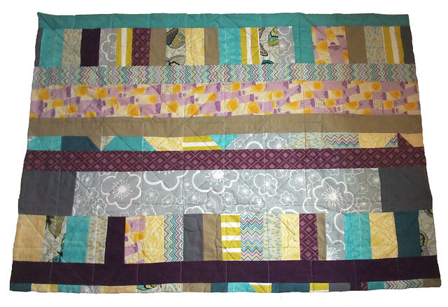 baby quilt reverse