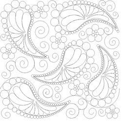 Shop | Category: Feathers / Pearls / curls | Product: SP Pearls and Paisley e2e
