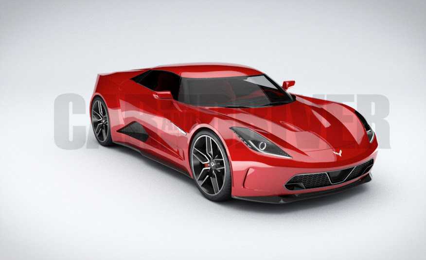 2017 Mid Engined Chevrolet Corvette Zora Rendered In 360 Degree Glory ...