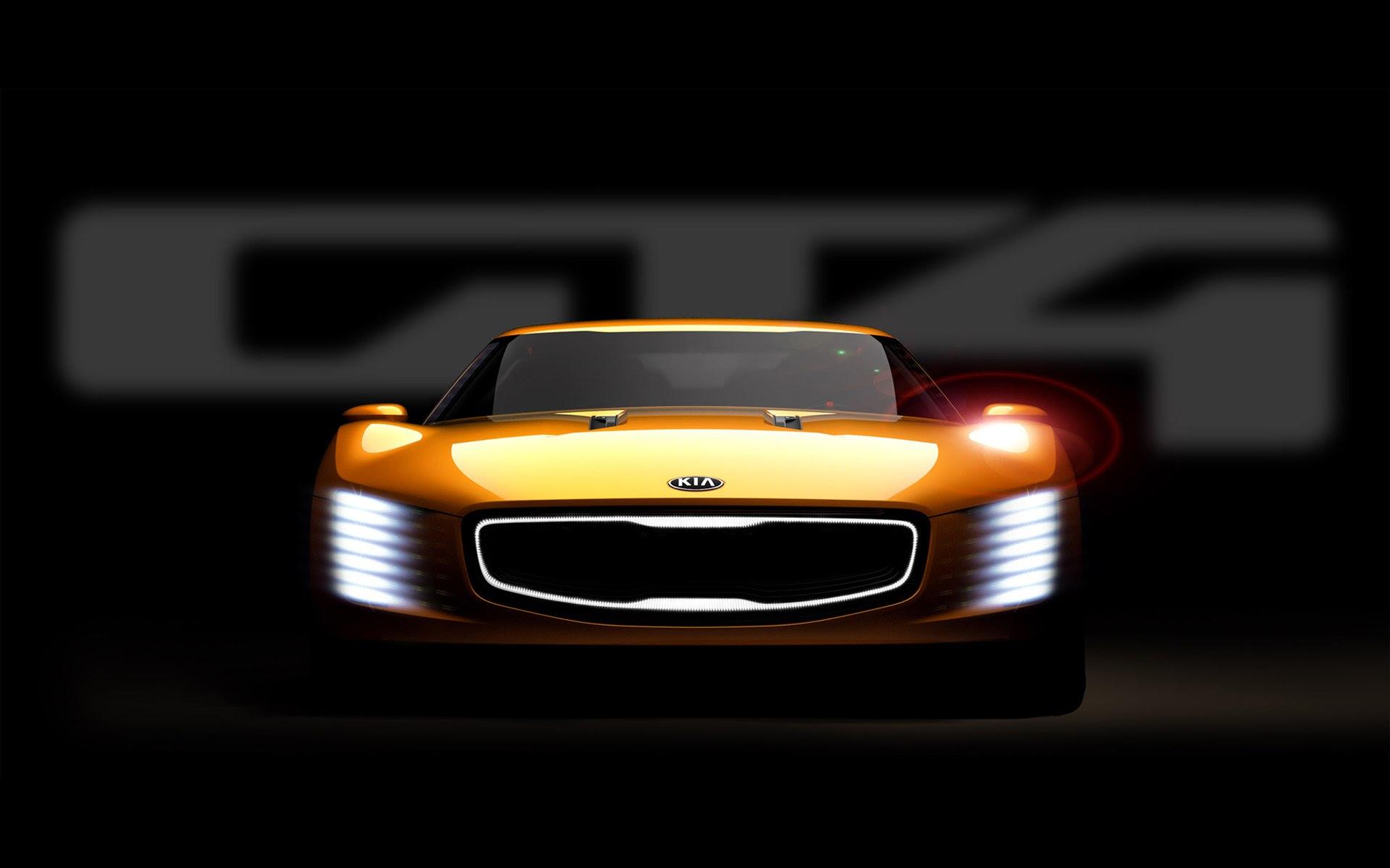 2014 Kia GT4 Stinger Concept 4 Wallpaper | HD Car ...