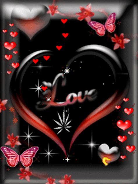 kumpulan gambar animasi bergerak romantis tentang cinta