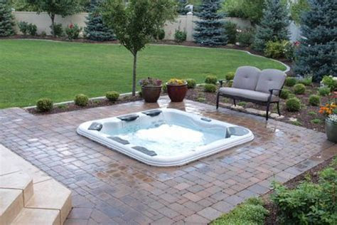 25  best ideas about In Ground Spa on Pinterest   Pizza