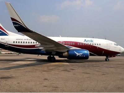Arik Air Boeing 737-700