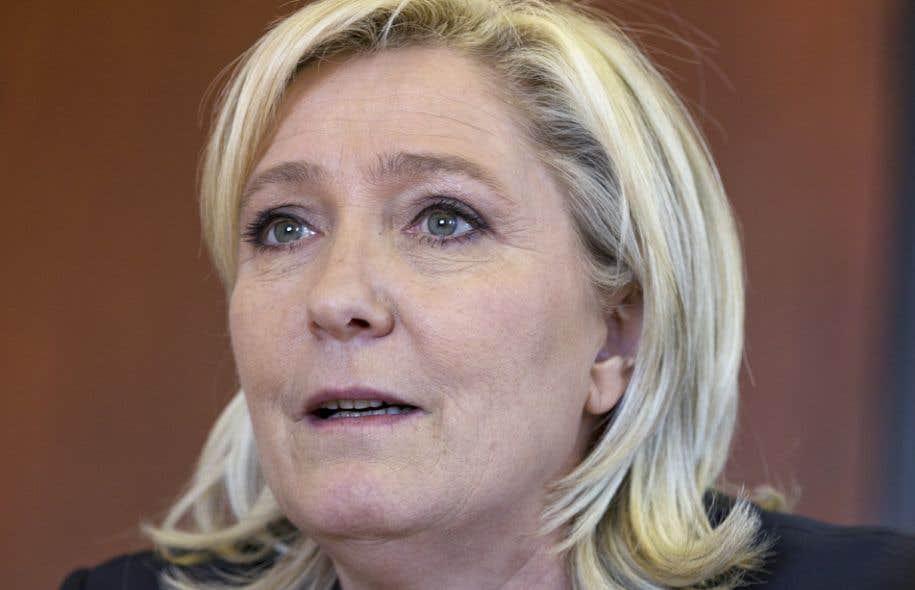 La candidate de l'extrême droite française, Marine Le Pen