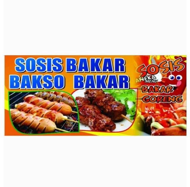 Banner Bakso Photoshop - desain spanduk keren