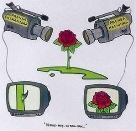 TV que no se ve, caricatura de Gerardo Hernández
