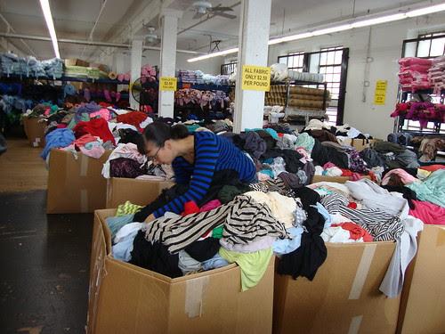 LA fabric shopping 11/22/13