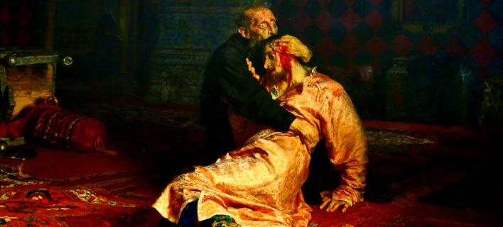 Ρώσος προκάλεσε φθορές σε διάσημο πίνακα με τον Ιβάν τον Τρομερό, που μισούν οι εθνικιστές -Δήλωσε μεθυσμένος