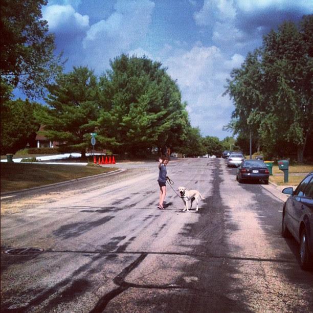 Walking Ginny. 99°