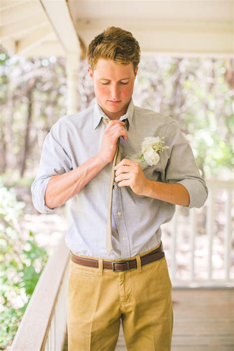 casual groom attire  outdoor wedding west texas