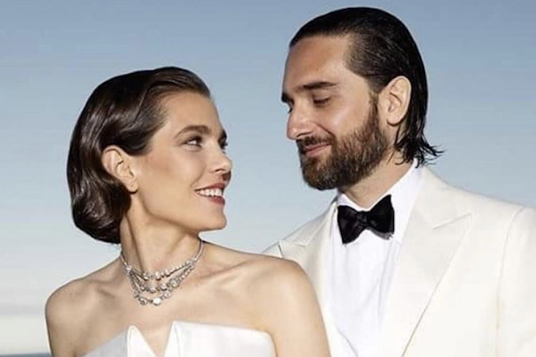 6d0d5a908 Grace Kelly's Granddaughter, Charlotte Casiraghi, Gets Married in Saint  Laurent and Chanel