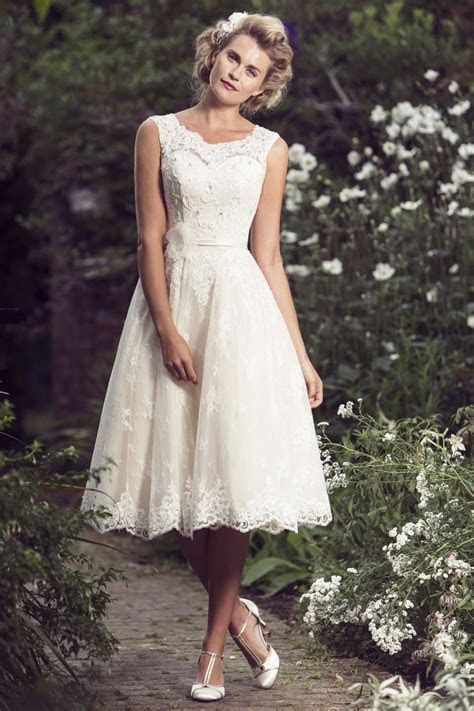 Brighton Belle Mia Tea Length Wedding Dress   Sell My