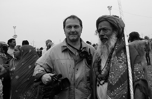 He Was Lucky To Shoot The Greatest Show On Earth Shahi Snan Maha Kumbh Allahabad  Feb 2013  Basant Panchami by firoze shakir photographerno1