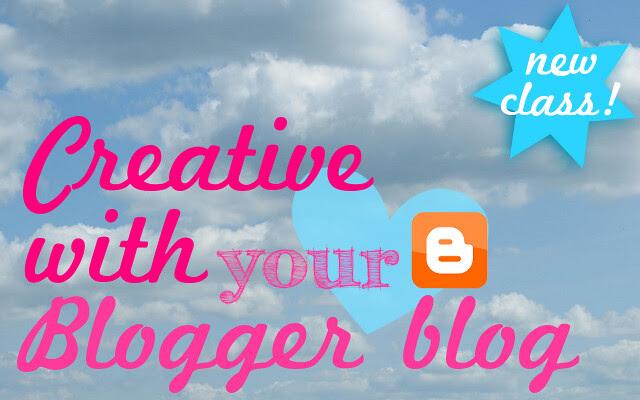 Creative Blogger class