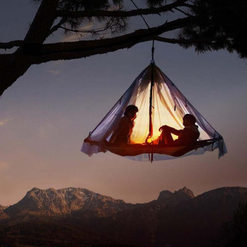 Hanging Tents For Rock Climbers 2