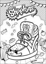 Dibujos De Shopkins Para Colorear En Colorearnet