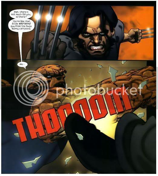 Wolverine vs Coisa