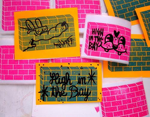 block print stickers