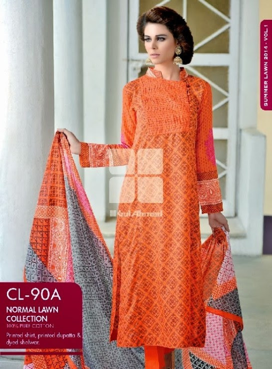 Girls-Wear-Summer-Dress-Chunri-Prints-Block-Prints-Embroidered-Single-Lawn-New-Fashion-Suits-by-Gul-Ahmed-13